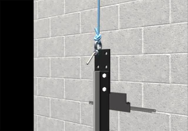 نصب ریل آسانسور بصورت حرفه ای