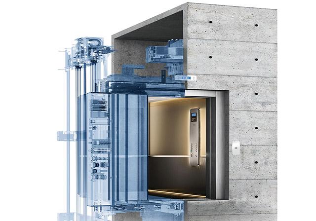 اورهد آسانسور