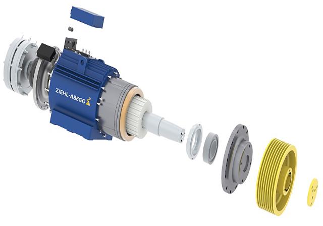 نمای داخلی موتور گرلس زیلابگ