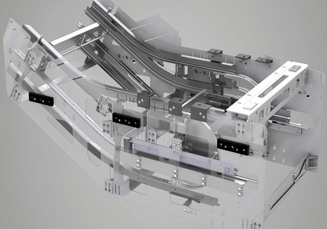 فضای ماشین آلات پائین پله برقی