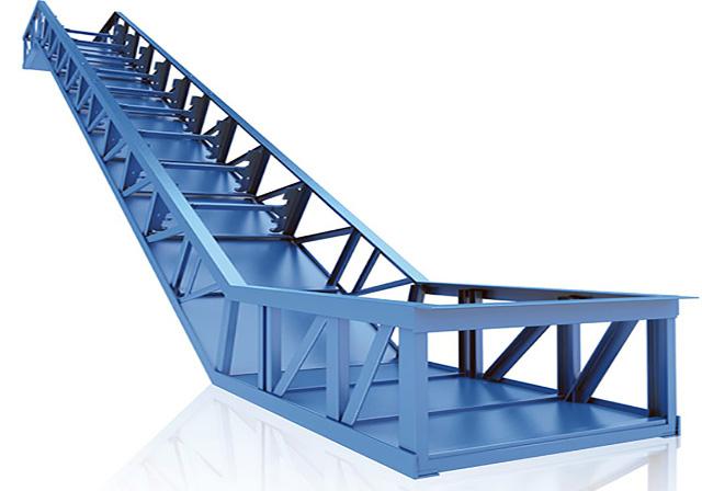 سازه اصلی(خرپا) پله برقی