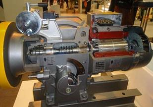 گیربکس حلزونی موتور آسانسور