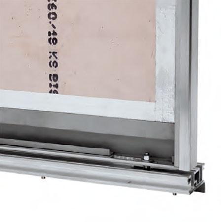 پنل درب آسانسور LiftEquip با استاندارد ضد حریق