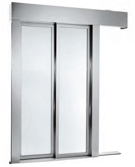 درب اتوماتیک طبقات با لته شیشه ای LiftEquip