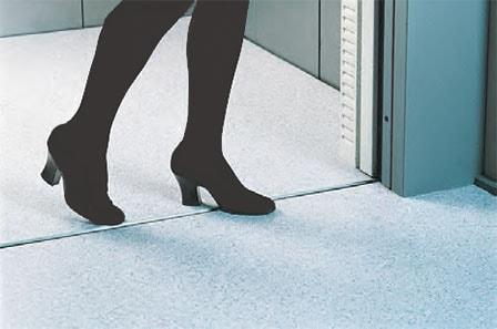 سیل درب آسانسور مخفی