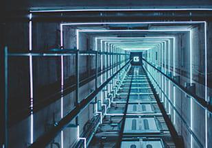 روشنایی چاله آسانسور با کلید تبدیل