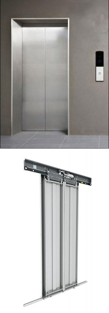 درب اتوماتیک طبقات آسانسور