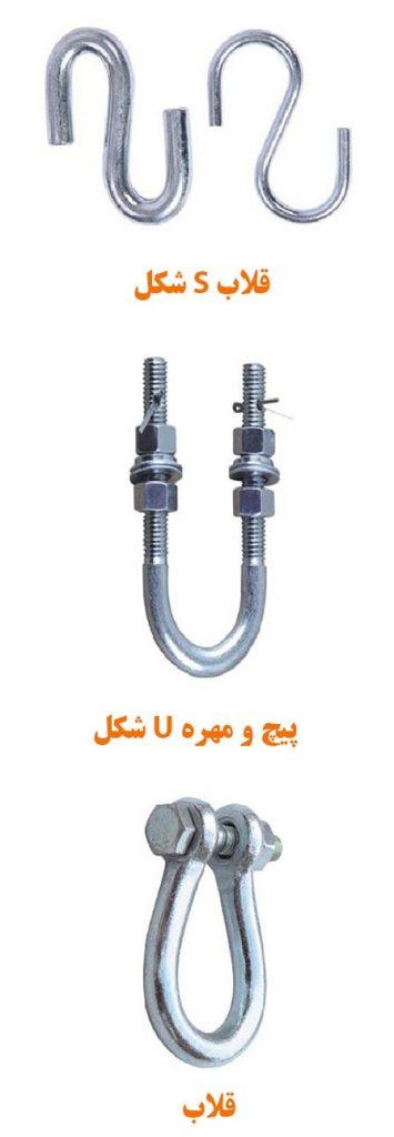 بست های اتصال زنجیر جبران