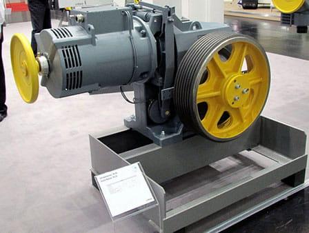 موتور گیربکس آسانسور