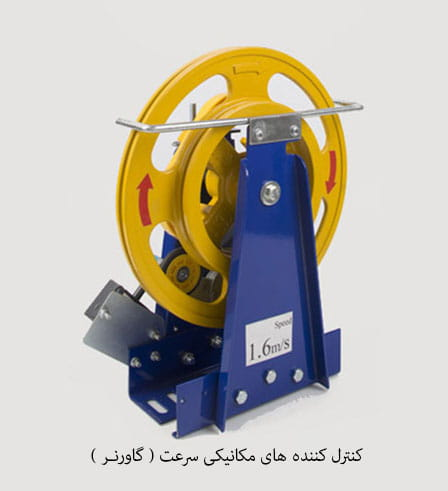 کنترل کننده های مکانیکی سرعت ( گاورنر )