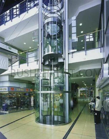 آسانسور هیدرولیکی جک مستقیم مرکزی
