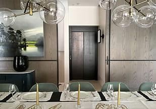 طراحی ترافیکی آسانسور برای رستوران