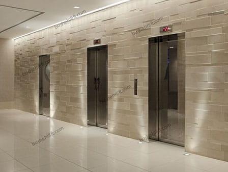 آسانسورهای سه تایی به طور خطی